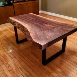 Live Edge Coffee Table Black Walnut - Woodify Canada 2