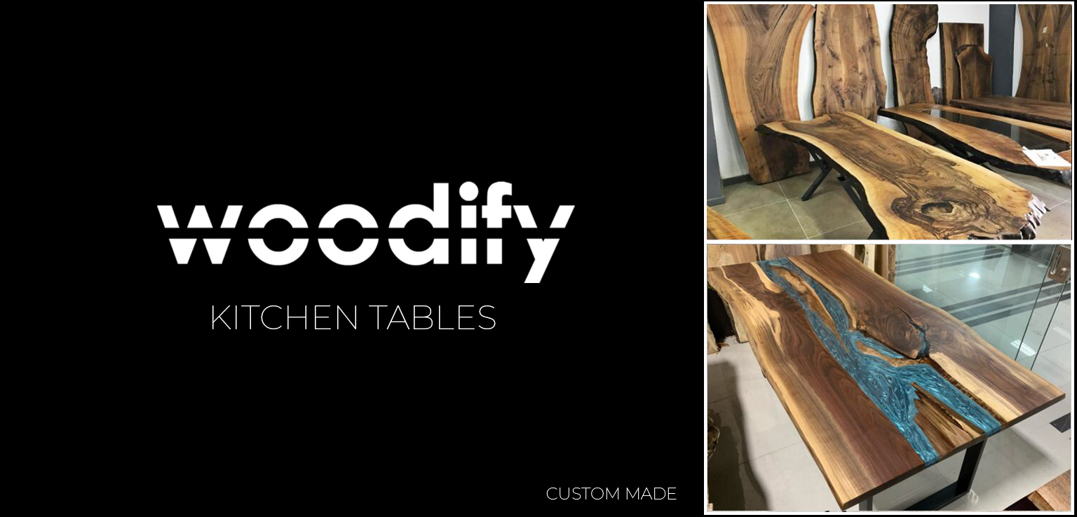 Custom Made Kitchen Tables from Woodify Canada