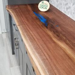Custom live edge counter, table, or bar top - Woodify Canada 1