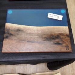 Walnut Epoxy Charcuterie Board - Woodify Canada