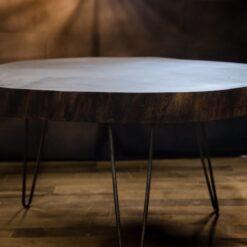 "3"" Thick Solid Walnut Coffee Table - Woodify Canada"