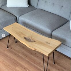 Maple Coffee Table with Hairpin Legs - Woodify Canada
