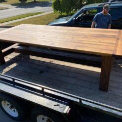 fiverwoods large reclaimed douglas fir table - Woodify Canada 2