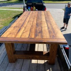 fiverwoods large reclaimed douglas fir table - Woodify Canada