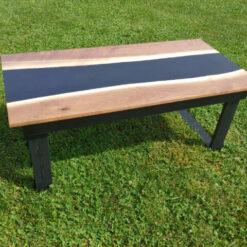 Mikes Custom Carpentry Custom Made Epoxy Tables - Woodify Canada